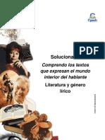 Solucionario Clase 17 Comprendo los textos que expresan el mundo interior del hablante 2016 CES.pdf