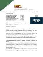 APS Direito - O Cheque pré-datado