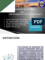 Expo Unidad I Administracion de operaciones