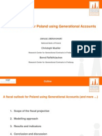 Fiscal Outlook for Poland using Generational Accounts