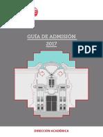 Guia Admision 2017 de la Escuela Nacional Superior Autónoma de Bellas Artes del Perú