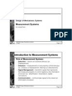 Lecture Notes Set 3 -Measurement Systems