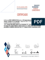 certificado Autino