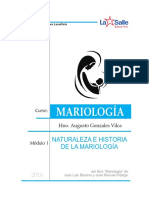 1. Naturaleza e Historia de La Mariología