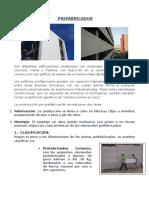 1.- PREFABRICADOS