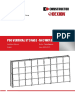 (en) P90 Vertical Storage - Showcase - Installation Manual - Issue 28.05.2013