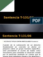 Sentencia T 131