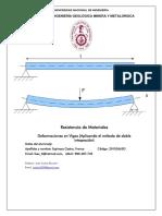 Deformación de Vigas (Método de Doble Integración)
