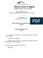 REVERSED Tenants in Common Foreclosure Gonzalez v. Chase Home Finance FL 3rd DCA