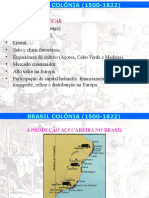 Brasil Colonia Ciclo Ouro