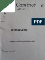 John Golding. Capítulos 1 y 4