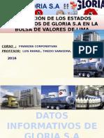 Diapositivas de Gloria s.A