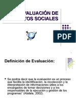 16732820 Evaluacion de Proyectos Sociales 2009