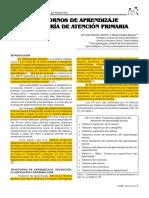 Trastornos de Aprendizaje en Pediatria de Atencion Primaria[885984]