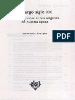 Arrighi, Giovanni - El Largo Siglo XX Introduccion