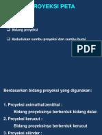 Minggu 5 Proyeksi and Datum