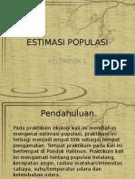 ppt ESTIMASI POPULASI