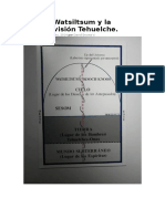 Sesom, Watsiltsum y la cosmovisión Tehuelche..doc