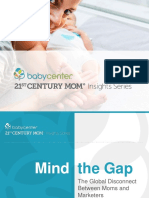 BabyCenter 2016 Global Mind the Gap