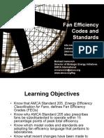 I2SL Fan Codes Standards 2013 Fan Codes Standards