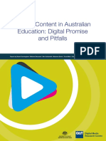 Australian Screen Content in Education