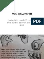 sample Mini Hovercraft