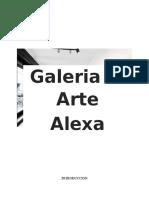 Trabajo Final de Mercadotecnia Galeria de Arte Alexa