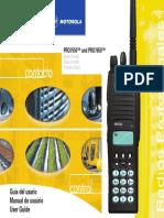 PRO7550 and PRO7650 PRO7550 Guía Del Usario Manual Do Usuário User Guide