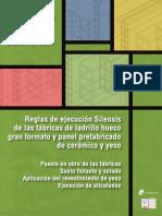 Manual de Ejecución de Fábricas de Ladrillo Para Revestir - Cuaderno 2