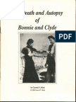 Bonnie and Clyde Death and Autopsy.