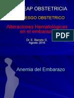 Hematologicas y Embarazo