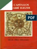 Los Capitulos de Rabbi Eliezer