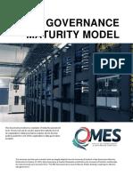 DataGovernanceMaturityModel Is