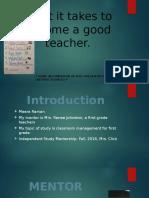 ism presentation