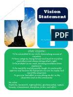 sed 322 vision statement pdf