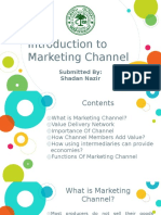 Introduction to Marketing Channel