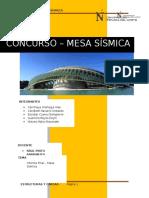 Informe Final Concurso Mesa Sísmica