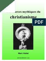 Les Sources Mythiques Du Christianisme - Marc Hallet