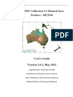 MODIS Burned Area Collection51 User Guide 3.0