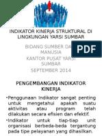 Indikator Kinerja Struktural Di Lingkungan Yarsi Sumbar