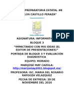 Portada y Evalaucion Diagnostica