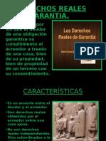 DERECHO ROMANO, DERECHOS REALES DE GARANTIA