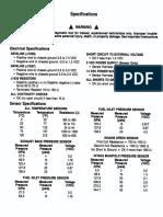 QSK19G Codes & Spec