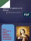 María y La Iglesia en La BIBLIA