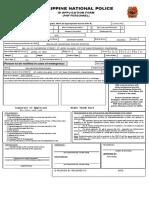NEW PNP ID FORM