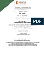 Programa Encuentro Internacional