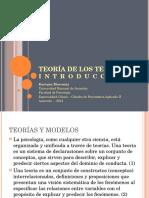 Teoría de Los Tests - Introducción - 2012