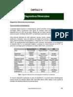 14 Diagnósticos Diferenciales