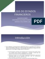 Análisis de Estados Financieros 2014 2