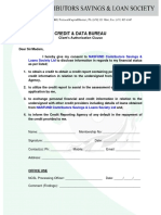 Credit & Data Bureau_Clause